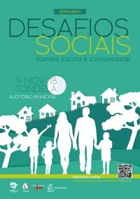 """Inscrições para o Seminário """"Desafios Sociais: Família, Escola & Comunidade"""""""