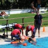 Piscinas Municipais de Tondela - Simulacro de Afogamento para testar a capacidade de resposta em situações de risco