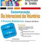 Comemoração do dia Internacional dos Voluntários