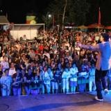 10 mil pessoas na estreia do Festival Urbano