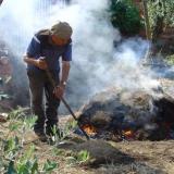 Molelos - cozedura tradicional de louça preta