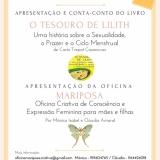 """Apresentação do livro o """"Tesouro de Lilith"""" na Biblioteca Municipal de Tondela"""