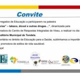 Sessão para Pais / Encarregados de Educação e Comunidade sobre Prevenção de Dependências