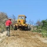 Trabalhos de recuperação nas áreas ardidas da Serra do Caramulo