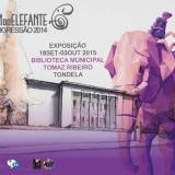 """""""A Viagem do Elefante, digressão 2014"""" - Exposição na Biblioteca Municipal Tomaz Ribeiro"""