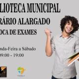 Biblioteca Municipal de Tondela alarga o horário de funcionamento