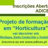 Projeto de formação em Horticultura