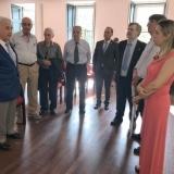 Governador do Distrito Rotário 1970 recebido na Câmara Municipal de Tondela