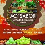 Mercado de Produtos Locais Ao Sabor – edição de novembro