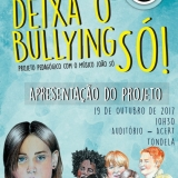 """Apresentação do projeto pedagógico """"Deixa o Bullying SÓ!"""" aos alunos de Tondela"""