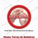 Dia Internacional dos Museus - 18 de maio