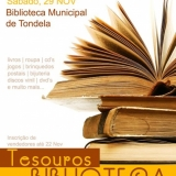 """""""Tesouros na Biblioteca"""" - Feira de Objetos Usados"""