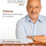 À conversa com Francisco Moita Flores em Tondela