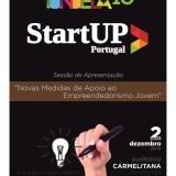 """Sessão de Apresentação """"Novas Medidas de Apoio ao Empreendedorismo Jovem"""""""