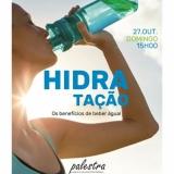 """Palestra """"Hidratação: os benefícios de beber água"""" nas Termas de Sangemil"""